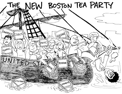 Boston tea party articles research paper