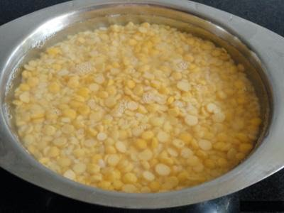 soaked dals to make mix dal appe recipe