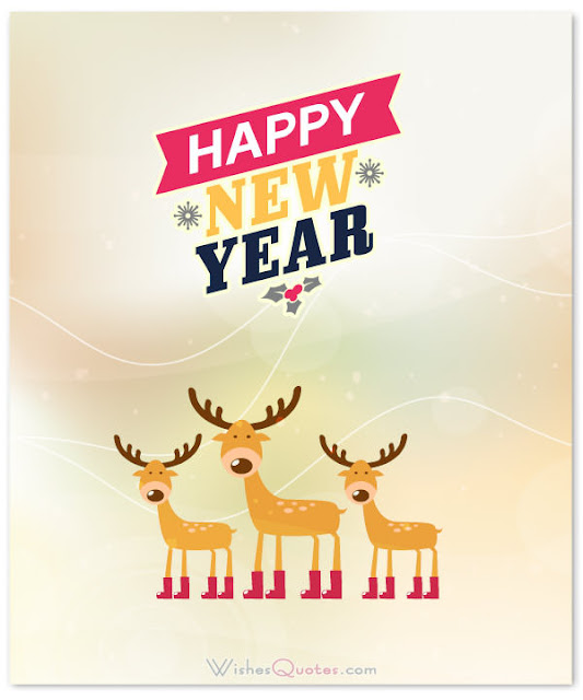 Happy New Year Cards for Kids