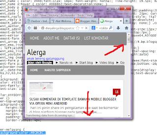belajar membuat template blogger responsive