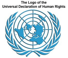 The Logo image of the Universal Declaration of Human Rights