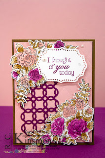 Climbing Roses, Vintage Card, Stampin' Up!, Rick Adkins, Viewers Choice