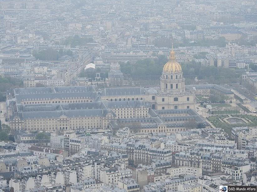 Museu do Louvre visto da Torre Eiffel - Como visitar a Torre Eiffel em Paris