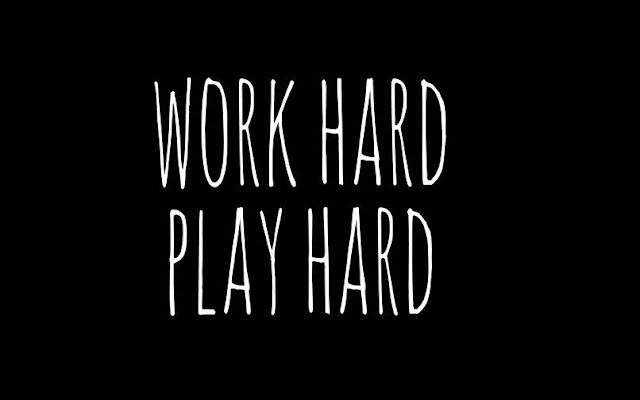Work Hard and Play Hard via ytimg.com
