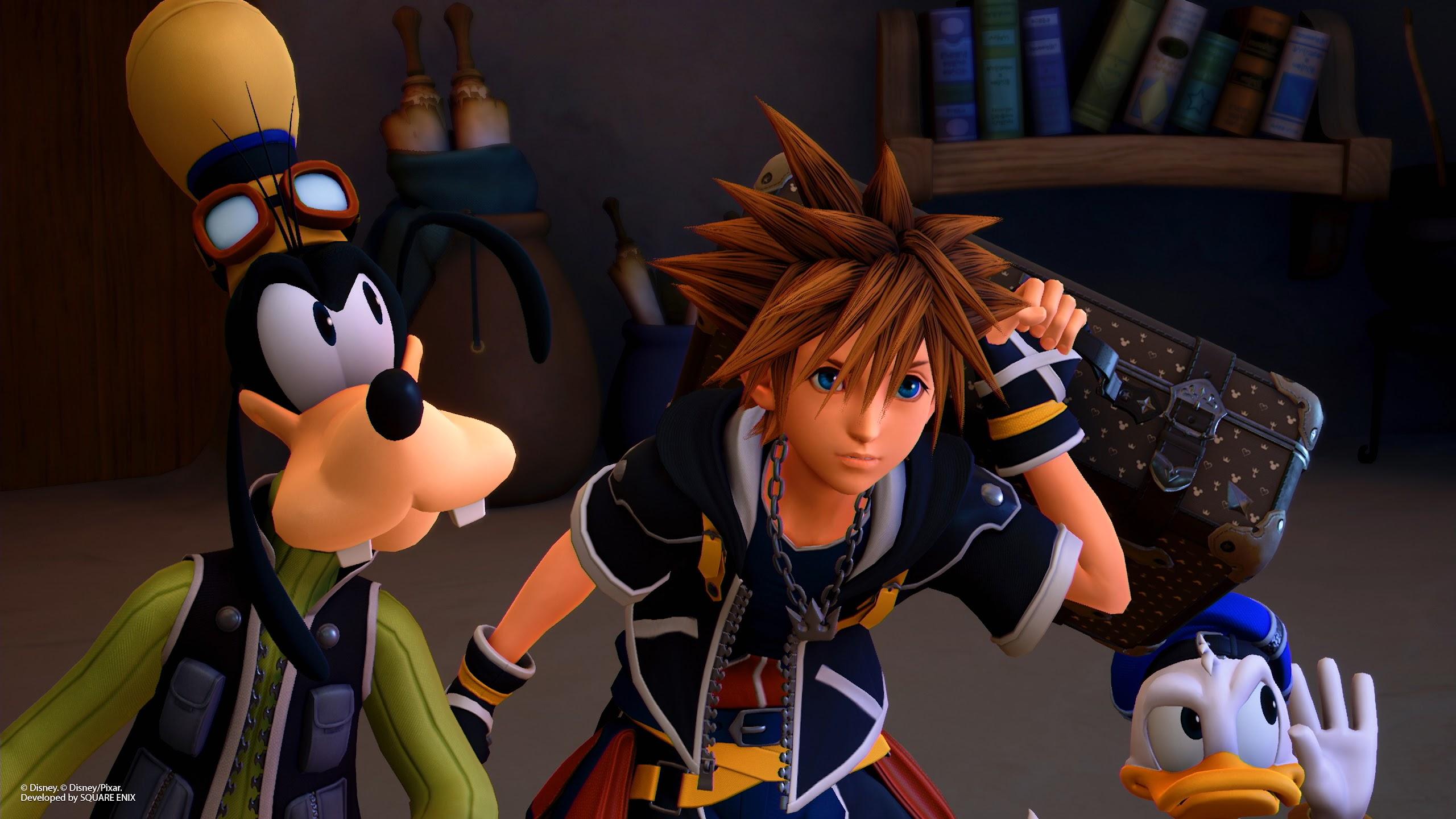 Kingdom Hearts 3 Sora 4k 3840x2160 Wallpaper 5