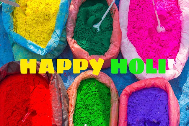 Holi Greetings - Wish your friends happy festival of colours - Download Images Free