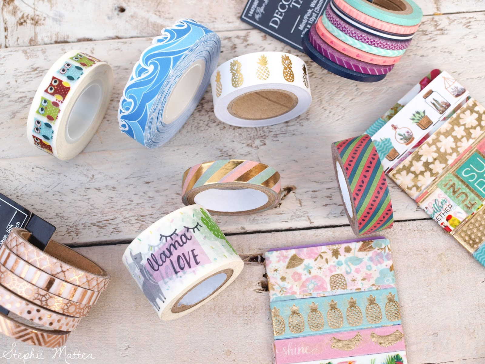 Faithful 25 Colorful Washi Tape Decorative Masking Tape For Diy Crafts Kids Art Projects Planner Journal Scrapbook Gift Wrapping