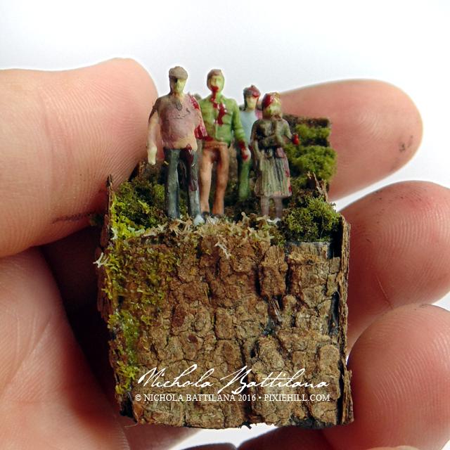 Pocket Sized Zombie Apocalypse Practice - Nichola Battilana