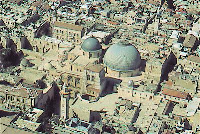Ierusalim: Biserica Învierii (Biserica Sfîntului Mormînt)