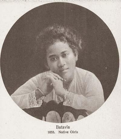 Gadis Batavia, 1910 | Sumber: Tipsiana