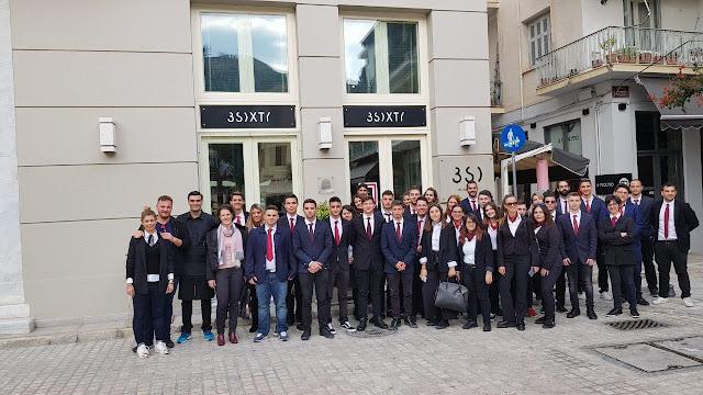 Εβδομάδα ξενοδοχειακών επισκέψεων για τα τμήματα της Τουριστικής Σχολής ΙΕΚ Πελ/σου