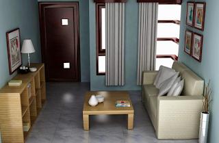 cara menata ruang tamu agar terlihat rapi