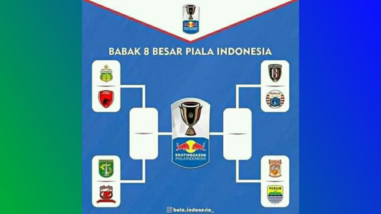 Hasil Drawing 8 Besar Piala Indonesia