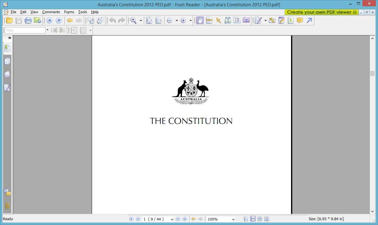The Australian Constitution Pdf