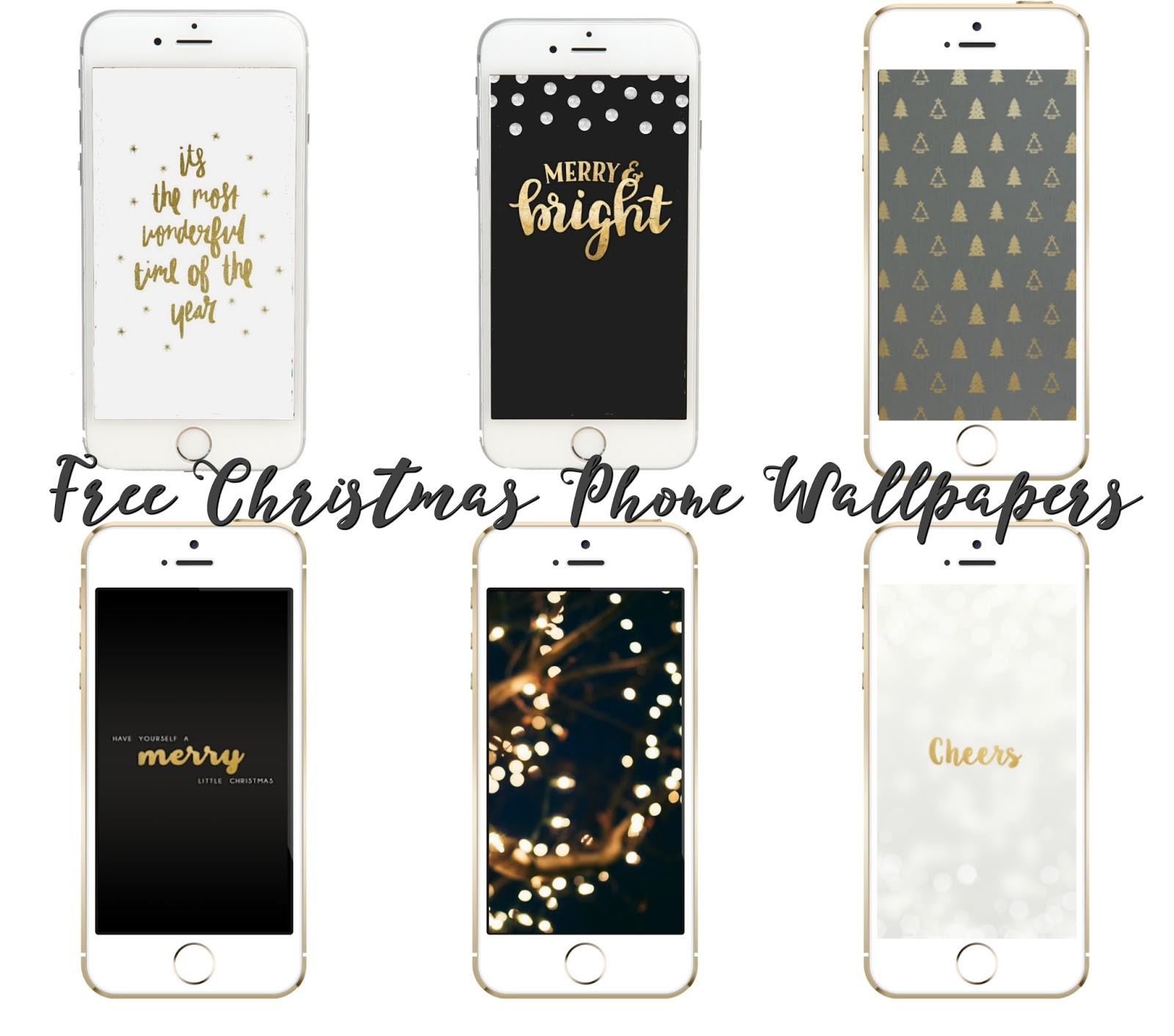 Free Christmas Themed Phone Wallpapers