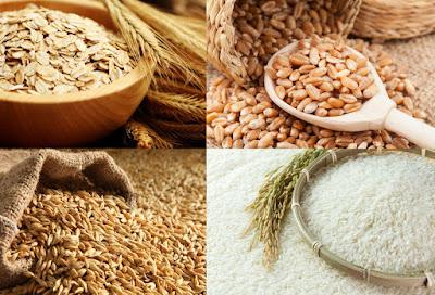 Μείγμα 4 δημητριακών: Κριθάρι, Βρώμη, Ρύζι, Σιτάρι