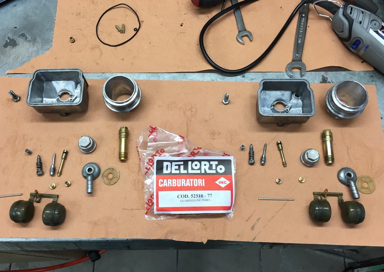 Carburateur carburateurs outre Düsenset NARAKU-Dellorto carburateur phbg-PHBD 30-50-1-057