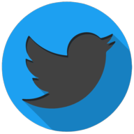 twitter colorful button