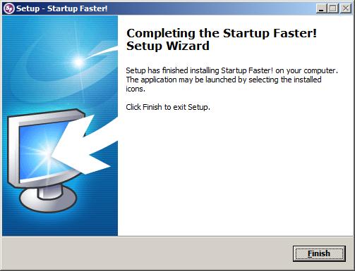 تحميل وتثبيت برنامج !Startup Faster لتسريع إقلاع الويندوز