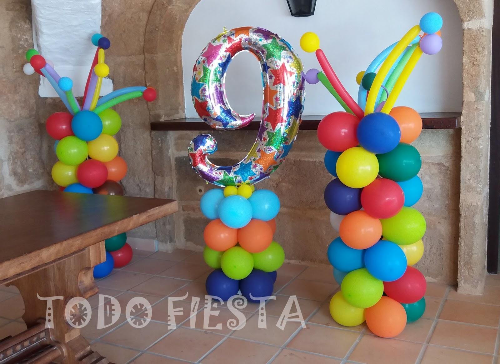 Decoraci n con globos de todo fiesta decoraciones para - Decoracion fiesta de cumpleanos infantil ...