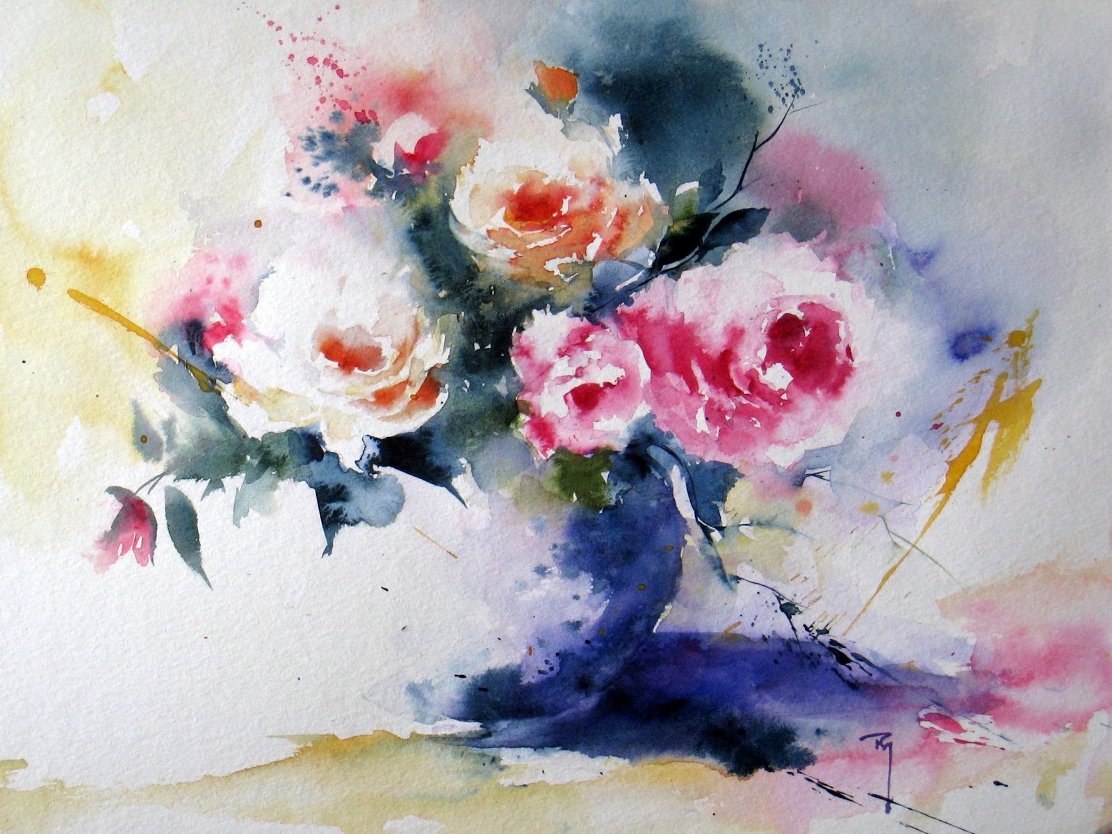 the watercolour log watercolour paintings 21