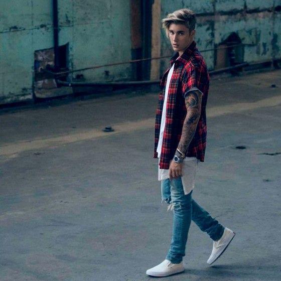 Macho Moda Blog De Moda Masculina 10 Looks Do Artista Com Justin Bieber Prainspirar