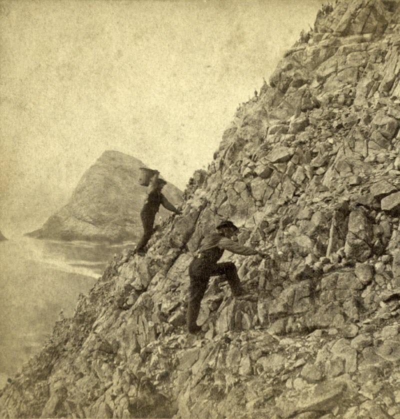 collecting eggs on Farallon Islands