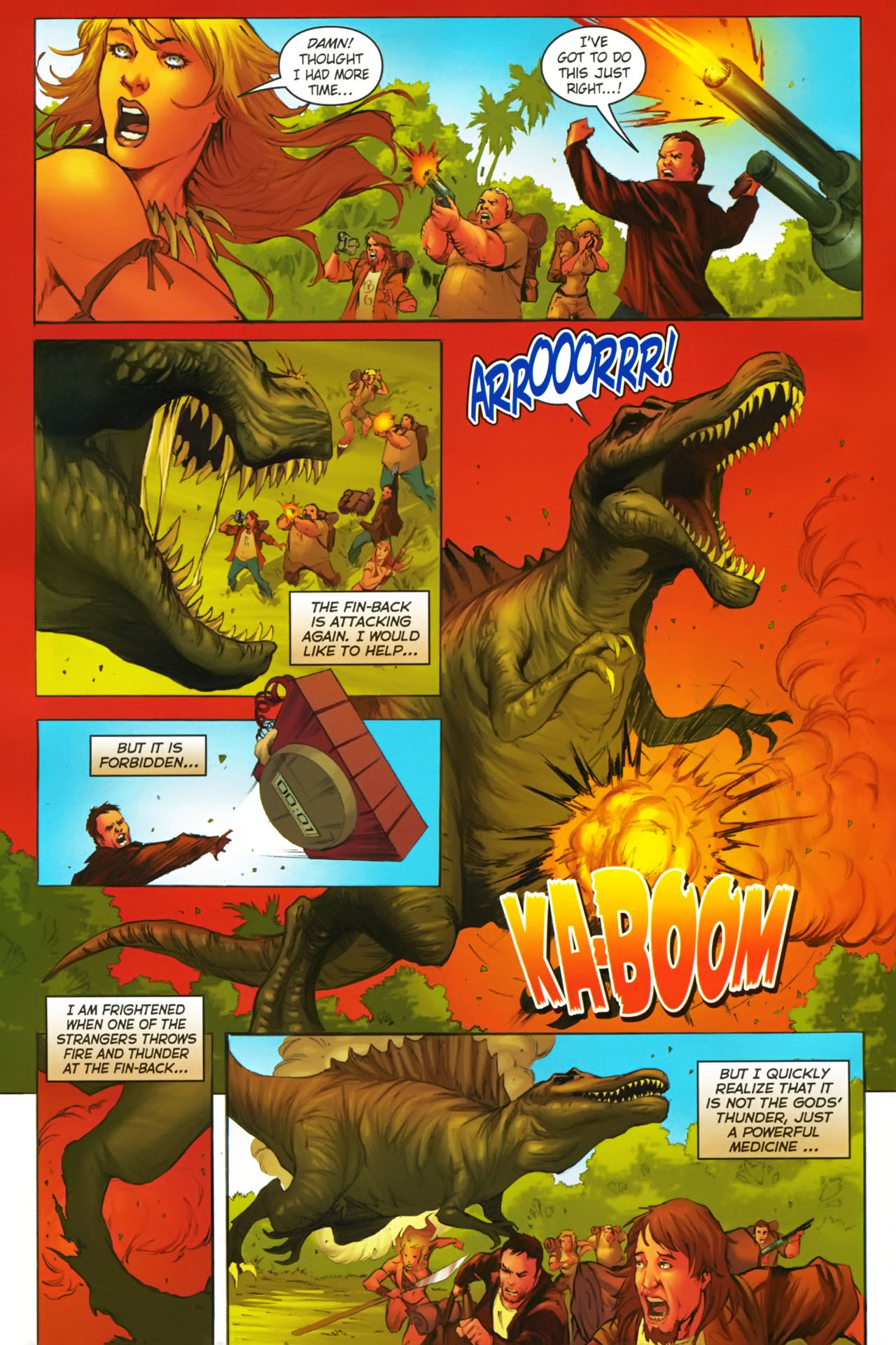 Read online Jungle Girl comic -  Issue #2 - 12