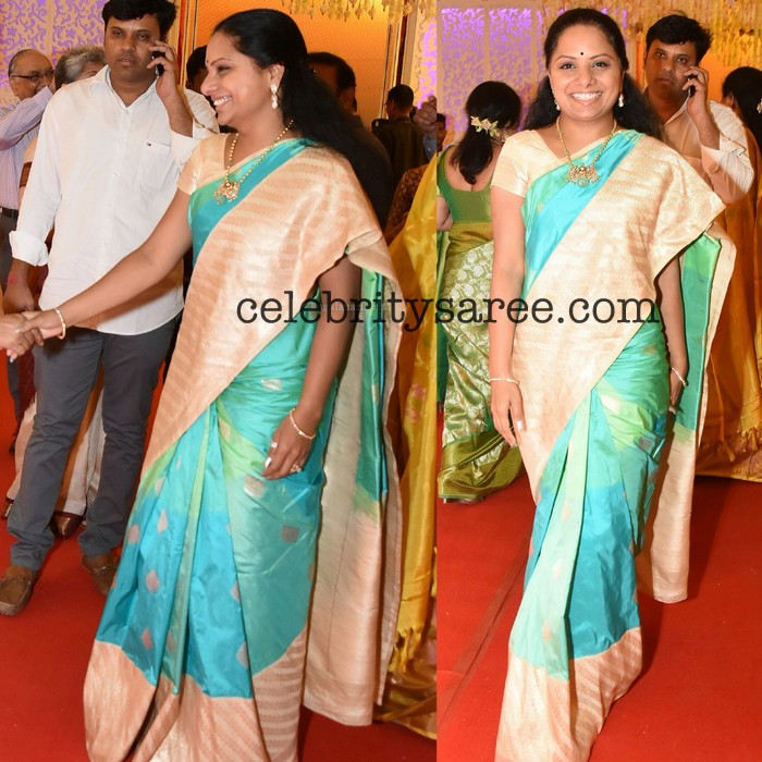 Minister Kavitha at Swathi Wedding