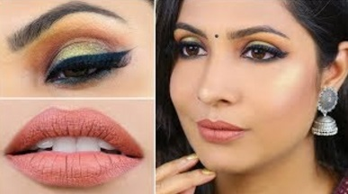 Black Smokey Eyes – Indian Wedding Guest Makeup