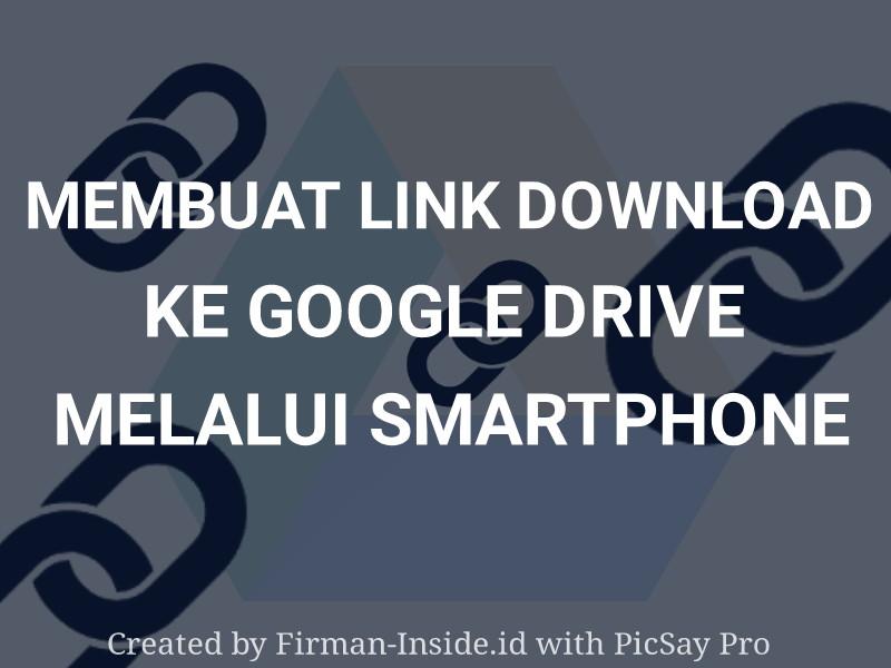 cara membuat link download google drive