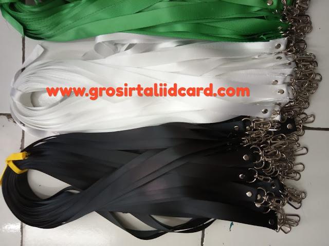 Pusat penjualan tali id card polos murah di Jakarta