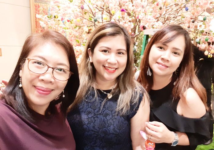 With DDI Momshies, Ces and Lovely