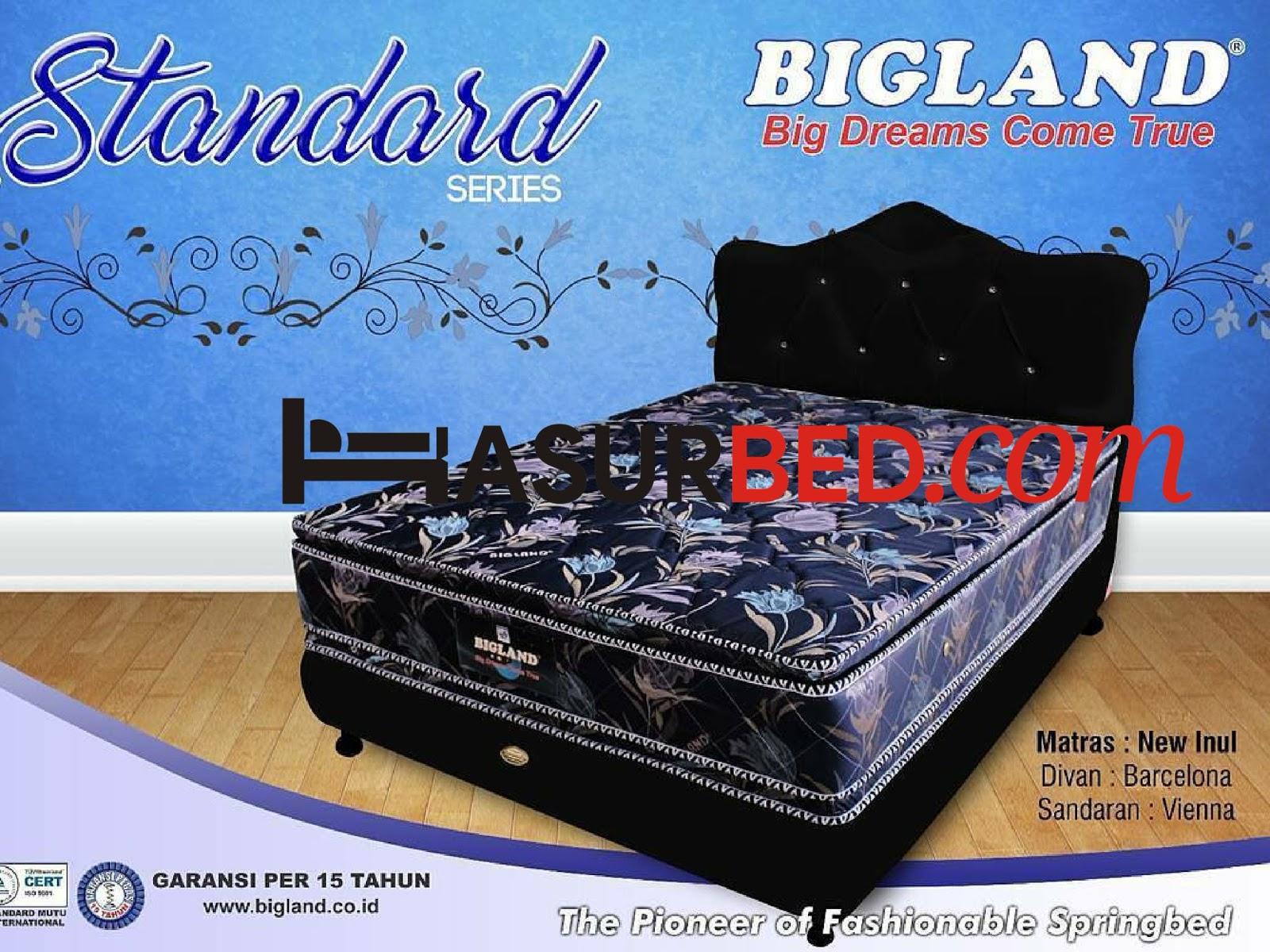 Harga Spring Bed Bigland Standard Series