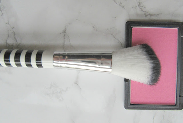 Lidl Blusher Brush Black and White