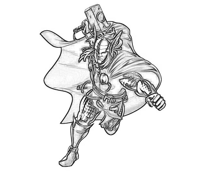 Marvel vs Capcom Thor   Yumiko Fujiwara