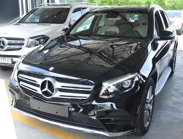 Mercedes GLC 300 4MATIC thiết kế phần trước đẹp mắt, cuốn hút