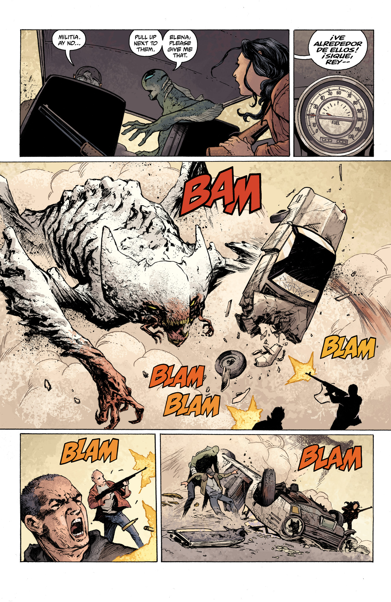 Read online Abe Sapien comic -  Issue #7 - 16