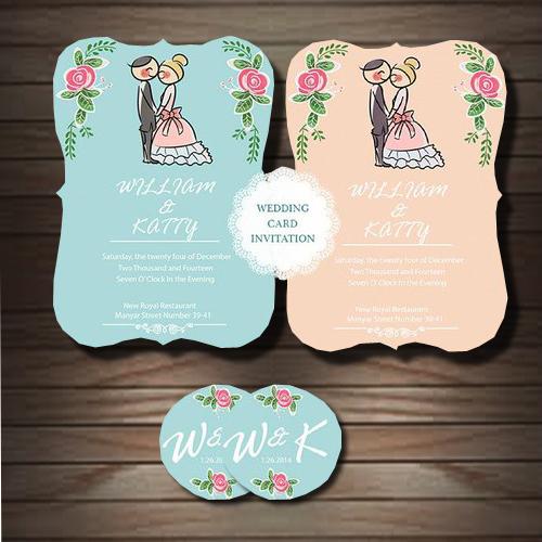 Undangan Pernikahan Banjarmasin Kalimantan Selatan Wedding Card