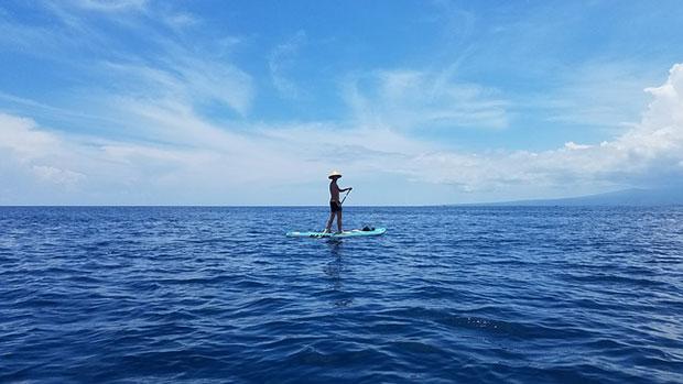 Que hacer en las islas Gili paddle surf