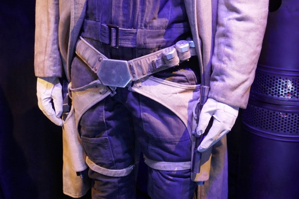 Beckett costume holsters Solo Star Wars