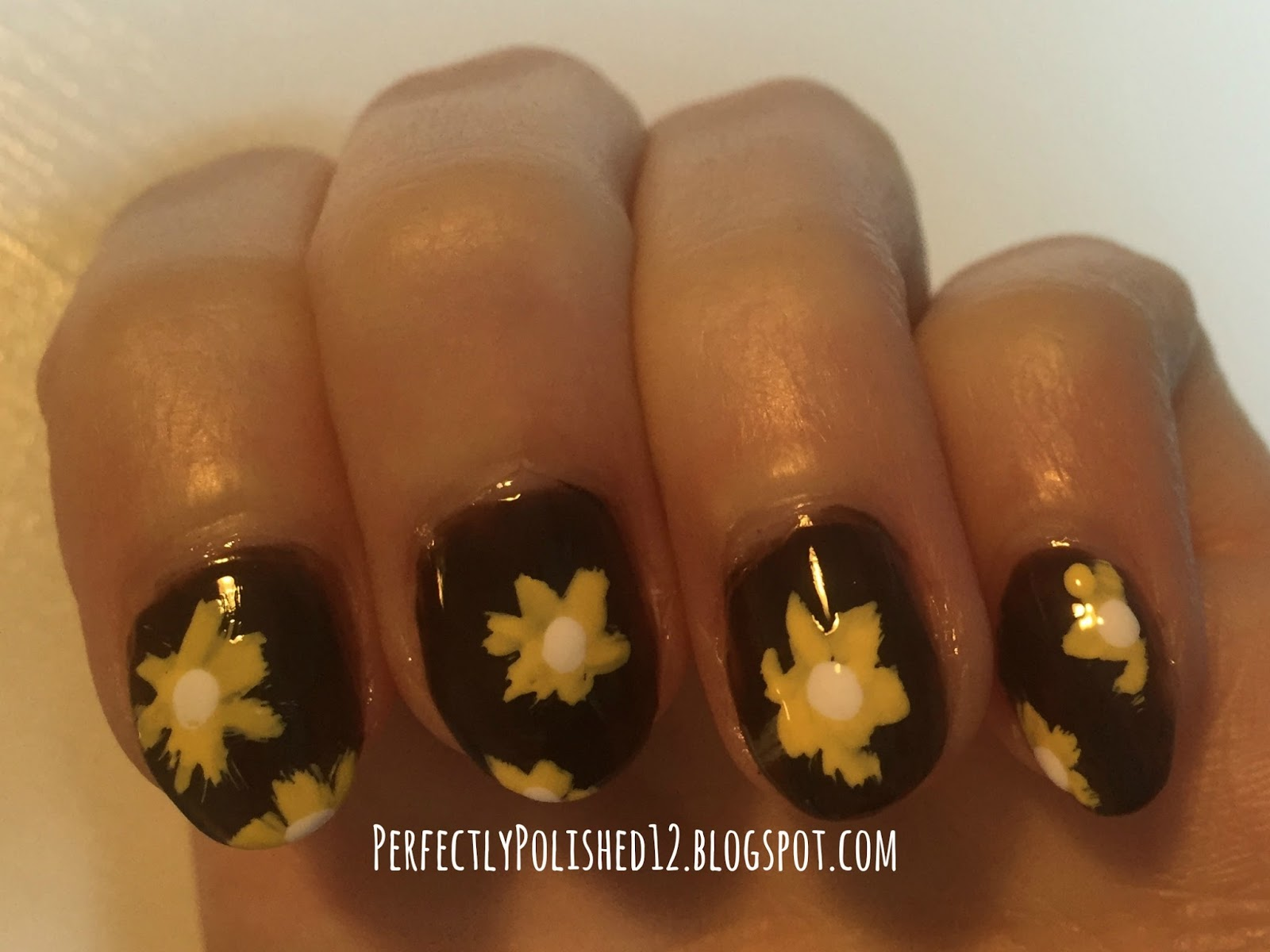 Perfectly Polished 12 May Nail Art Spring Flowers