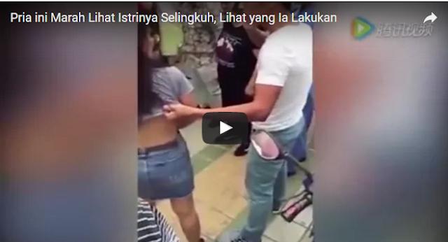 Pria ini Marah Lihat Istrinya Selingkuh, Apa yang Ia Lakukan Sungguh Mengejutkan. Videonya Jadi Viral di Media Sosial.