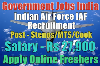 Air Force IAF Recruitment 2019