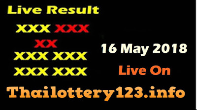 Thai Lottery 16 May 2018 Live Result Online Update