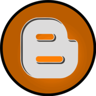 blogger glowing icon