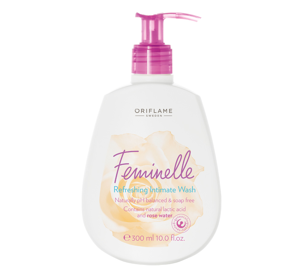 Limpeza Íntima Refrescante Feminelle da Oriflame