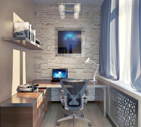 11 Desain Model Meja Kerja Minimalis Untuk Rumah dan Kantor Berukuran Kecil Bergaya Kontemporer