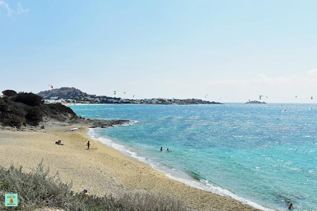 Orkos Beach en Naxos