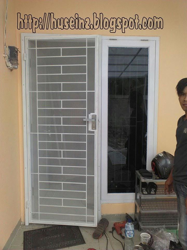 pasang canopy baja ringan depok pemasangan canopy, pintu dobel, teralis di villa tanah ...